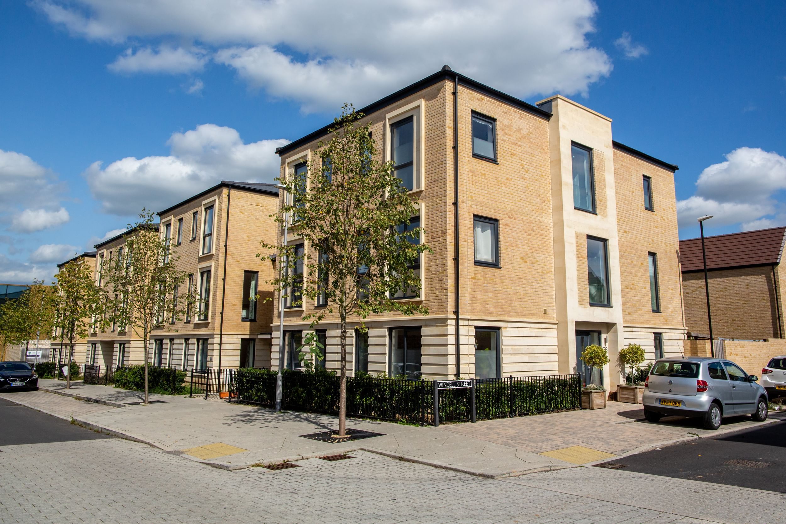Housing development in Bath