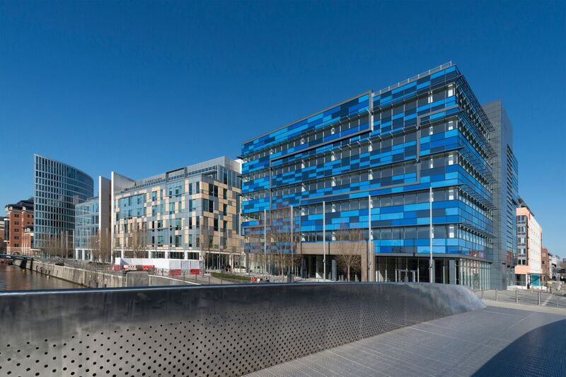 Glass Wharf building