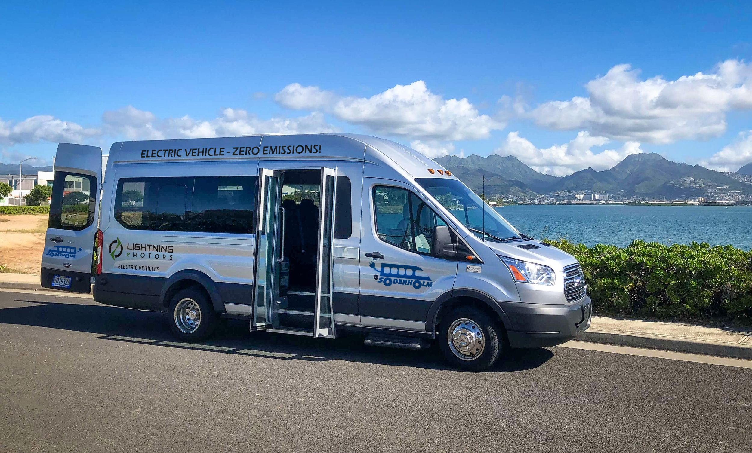Lightning eMotors Partners with Soderholm Bus & Mobility to Sell Electric Commercial Vehicles in Hawaii