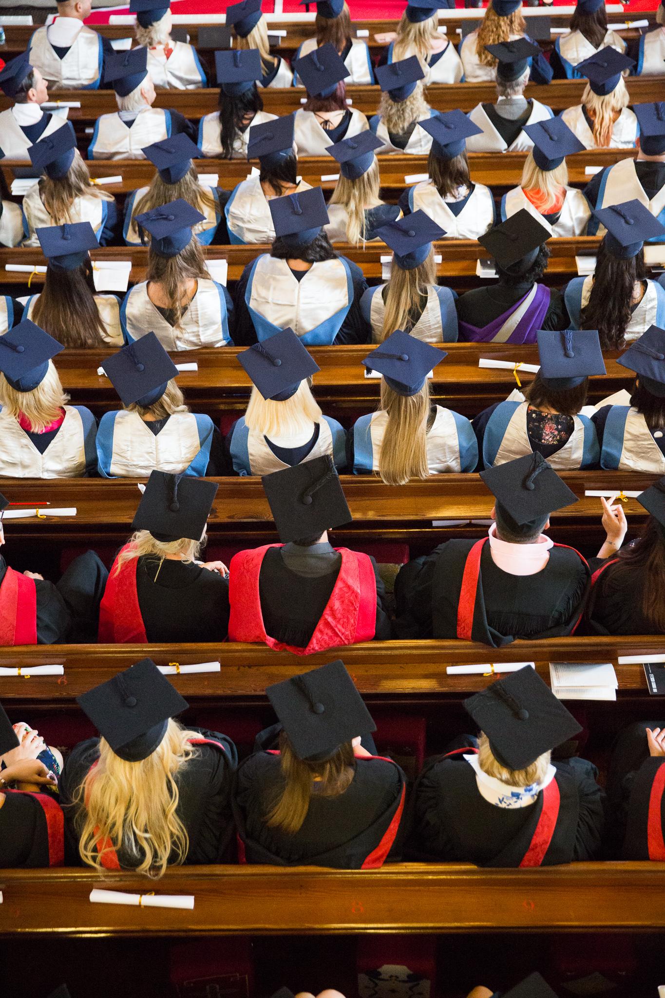 Graduation at Weston College