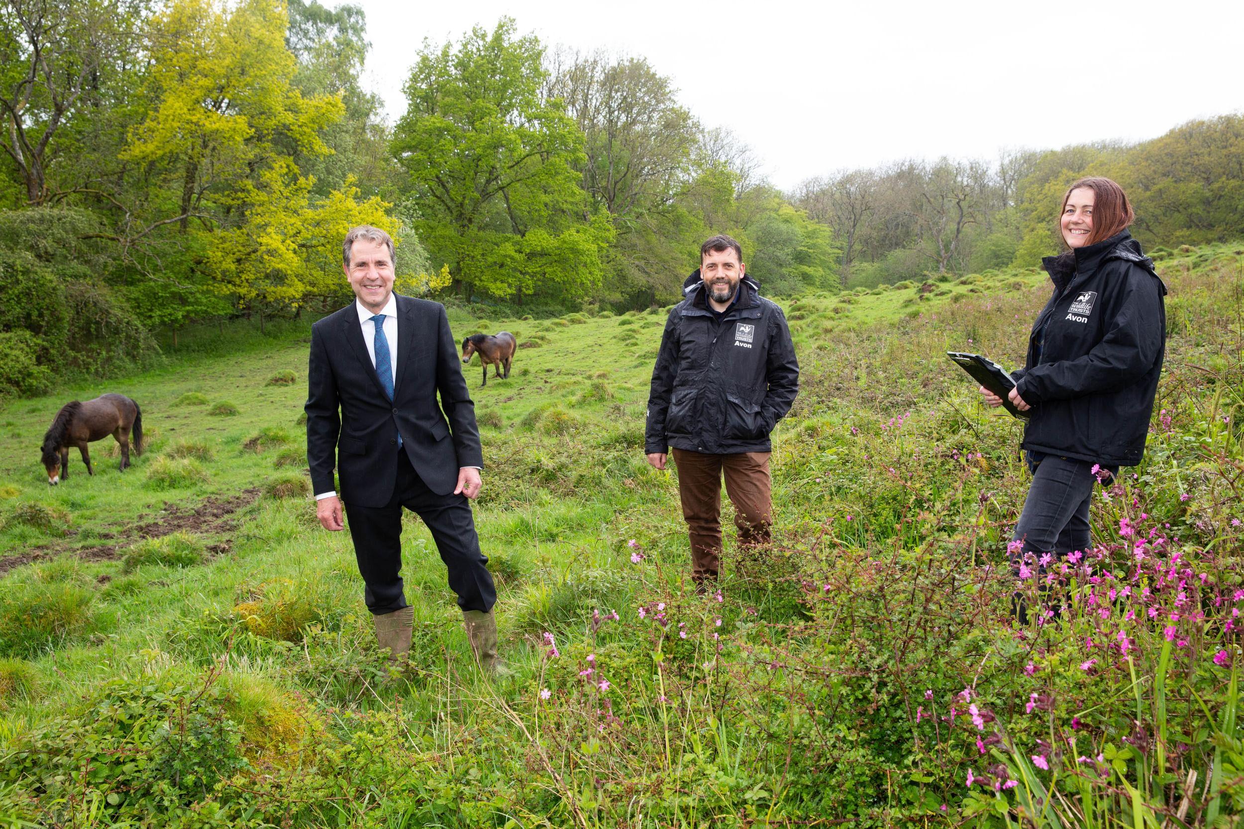 Metro Mayor Dan Norris in the countryside