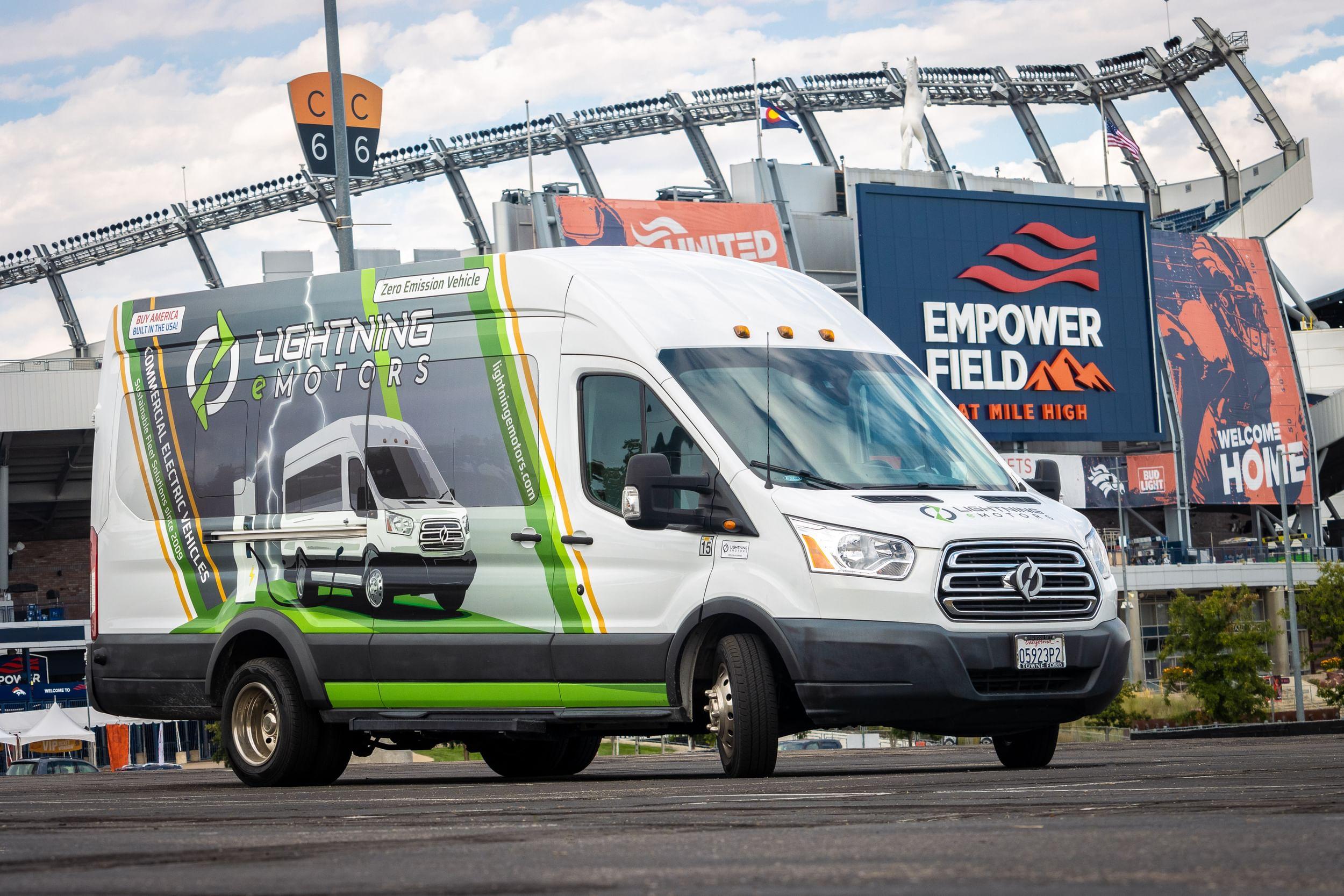 Lightning eMotors to Sponsor Denver Broncos Football Club