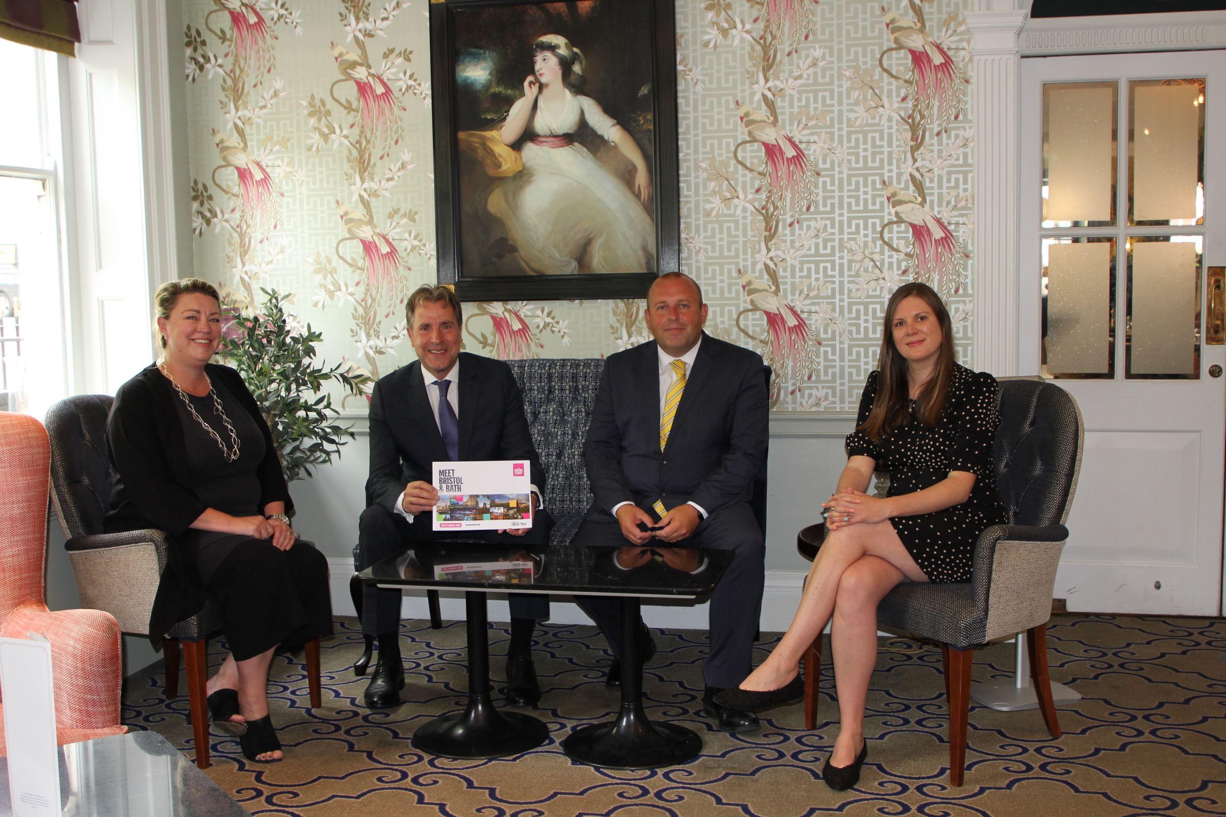 Meet Bristol and Bath team with Metro Mayor Dan Norris