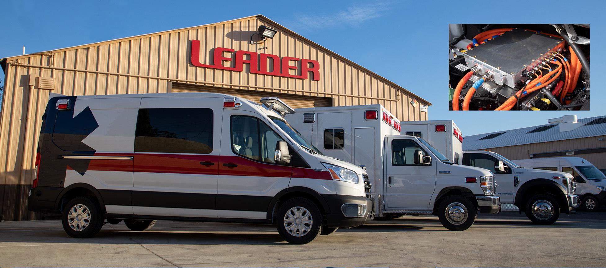 Lightning eMotors and REV Group Subsidiary to Produce Electric Ambulances