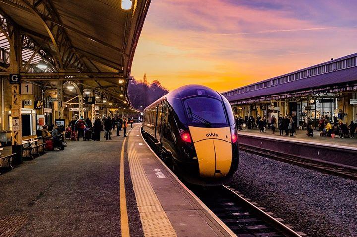 Bath train station